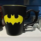 Six Flags Magic Mountain DC Batman Logo Dragon Handle Matte Finish Mug New