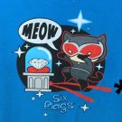 Six Flags Magic Mountain Catwoman Meow Adult T-Shirt SIZE S,M,L XL,XXL New