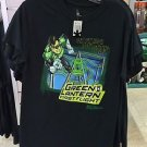 Six Flags Magic Mountain Green Lantern Ride Men's T-Shirt SIZE: S,M,L XL,XXL New