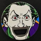Six Flags Magic Mountain DC The Joker Bottle Opener / Magnet New