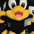 "Six Flags Magic Mountain Looney Tunes Baby Daffy Duck 10"" Plush New"