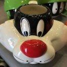 Six Flags Magic Mountain Looney Tunes Sylvester Cat Ceramic Mug New