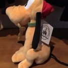 "Disney Parks Pluto as Pirate 9"" Plush Doll New with Tags"