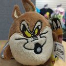 Six Flags Magic Mountain Looney Tunes Wile E Coyote Plush Keychain New