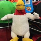 "Six Flags Magic Mountain Looney Tunes Foghorn 10"" Mini Plush New"