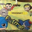 Six Flags Magic Mountain DC Justice League Batman PVC Magnet New