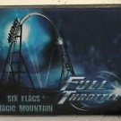 Six Flags Magic Mountain Full Throttle Acrylic Magnet New