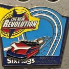 Six Flags Magic Mountain The New Revolution Motion Metal Magnet New