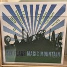 Six Flags Magic Mountain Attractions Ceramic Coaster Cup New