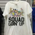 Six Flags Magic Mountain Looney Tunes The Squad Goin' Up T-Shirt New