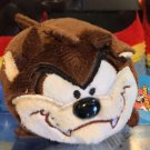 Six Flags Magic Mountain Looney Tunes Tasmanian Devil Tube Plush New
