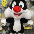 "Six Flags Magic Mountain Looney Tunes Sylvester Cat 8"" Mini Plush New"