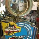 Six Flags Magic Mountain The New Revolution Motion Metal Keychain New