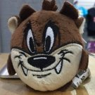 Six Flags Magic Mountain Looney Tunes Tasmanian Devil Plush Keychain New