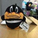 Six Flags Magic Mountain Looney Tunes Daffy Duck Plush Keychain New