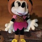 "Disney Parks Minnie Mouse as Pirate 9"" Plush Doll New with Tags"