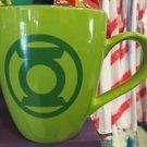Six Flags Magic Mountain DC Green Lantern Pastel Ceramic Mug New