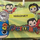 Six Flags Magic Mountain DC Justice League Superman PVC Magnet New