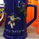 Six Flags Magic Mountain DC Justice League Wonder Woman Superman Ceramic Mug New