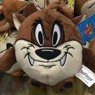 Six Flags Magic Mountain Looney Tunes Tasmanian Devil Fat Mini Plush New