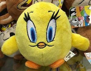 Six Flags Magic Mountain Looney Tunes Tweety Bird Fat Mini Plush New