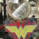 Six Flags Magic Mountain DC Justice League Wonder Woman Metal Keychain New