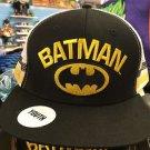 Six Flags Magic Mountain DC Batman Logo Adjustable Snapback Mesh Hat Cap New