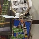 Six Flags Magic Mountain Goliath Motion Metal Keyring Keychain New