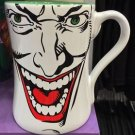 Six Flags Magic Mountain DC The Joker 16oz. Big Face Ceramic Mug Cup New