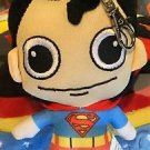 Six Flags Magic Mountain DC Justice League Superman Keychain Mini Plush New