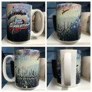 Six Flags Magic Mountain The New Revolution 16oz Ceramic White Mighty Mug Cup