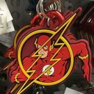 Six Flags Magic Mountain DC Justice League The Flash Carabiner Keychain New
