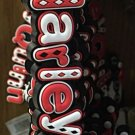 Six Flags Magic Mountain DC Villains Harley Quinn PVC Keyring Keychain New