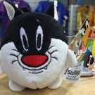 Six Flags Magic Mountain Looney Tunes Sylvester Plush Keychain New