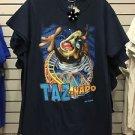 Six Flags Magic Mountain Looney Tunes Tasmanian Devil Taz Tornado T-Shirt New