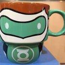 Six Flags Magic Mountain DC Cutie Green Lantern Stackable Ceramic Mug New