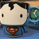 Six Flags Magic Mountain DC Cutie Superman Stackable Ceramic Mug New