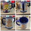 Six Flags Magic Mountain Looney Tunes Tweety Bird I Am Not An Early Bird Mug New