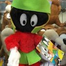 "Six Flags Magic Mountain Looney Tunes Marvin The Martian 10"" Plush New"