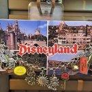 Disney Parks Disneyland Resort Mickey & Minnie Mouse Cameo Charm Bracelet New