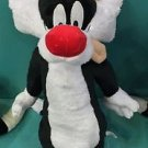 "Six Flags Magic Mountain Looney Tunes Sylvester Cat 18"" Plush New with Tags"