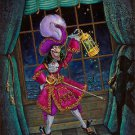 Disney Parks Captain Hook Deluxe Print by John Coulter New
