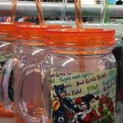 Six Flags Magic Mountain Harley Quinn Bad Girls Rule! Travel Cup with Straw New