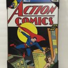 DC COMICS ACTION COMICS SUPERMAN WOOD PLAQUE 13X19 NEW
