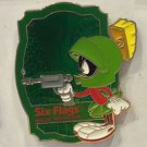 Six Flags Magic Mountain Looney Tunes Marvin The Martian Metal Magnet New