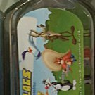 Six Flags Magic Mountain Looney Tunes Multi Character Acrylic Keychain New