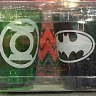 Six Flags Magic Mountain DC Comics Justice League Shot Glass Set Of 4 New
