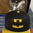 Six Flags Magic Mountain Justice League Batman Rubber Hat Cap Keychain New