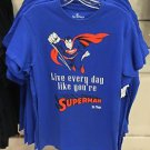 Six Flags Magic Mountain Live Every Day Like Superman T-Shirt SIZE S,M,L XL,XXL