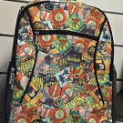 Six Flags Magic Mountain DC Comics Justice League Collage Backpack Bag New